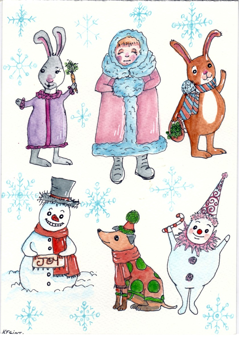 Christmas Illustration.Christmas Illustration Ktf Ilustration